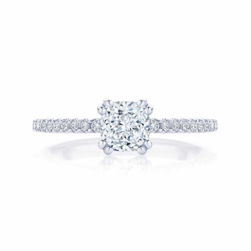 Cushion Cut Diamond Engagement Ring White Gold | Aurelia (Cushion)