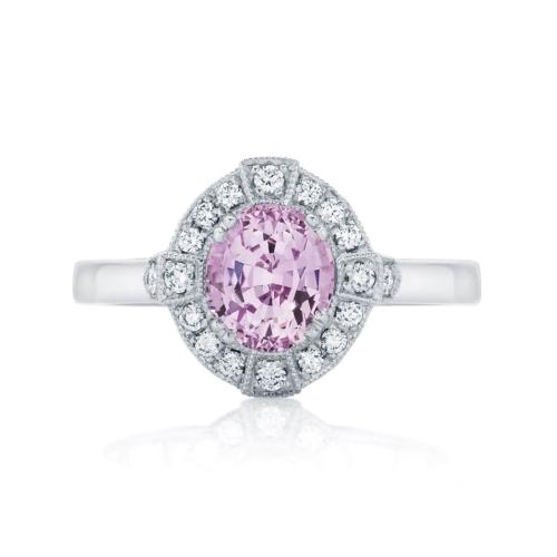 Oval Halo Dress Ring Platinum | Belle